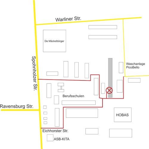 Anfahrtskizze Eichhorster Str. 19
