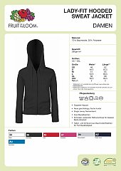 Lady Hooded Jacke