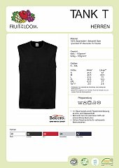 Datenblatt Tank-Top