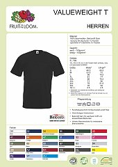 T-Shirt Valueweight T