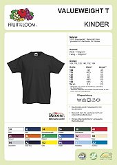 Kids Shirt Valueweight